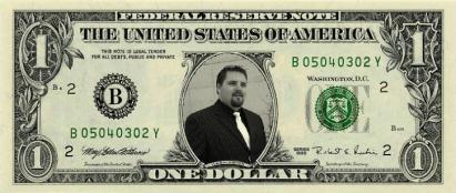 Pimping One Dollar Bill