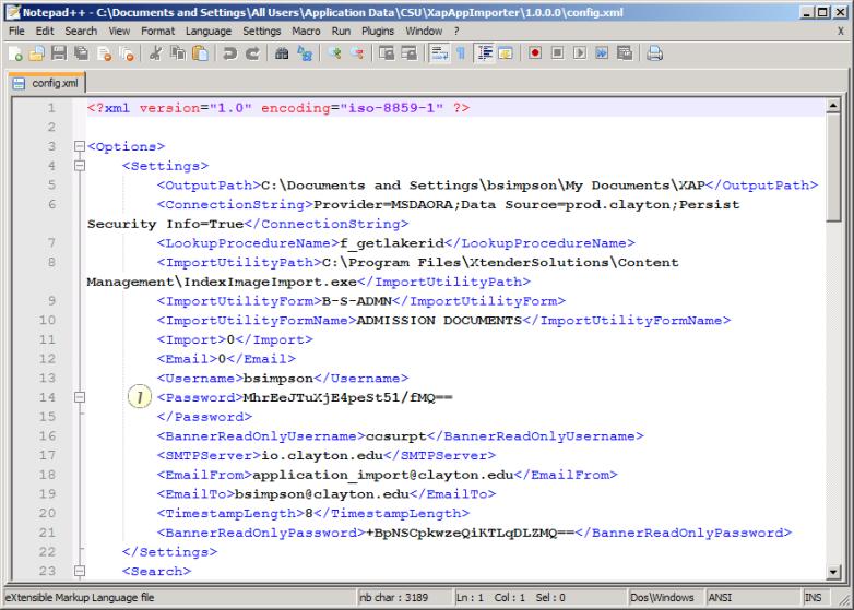 Xap XML