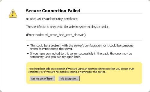 Firefox SSL: Step 2