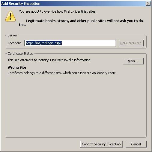 Firefox SSL: Step 3