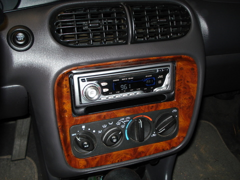 Car Stereo Installed